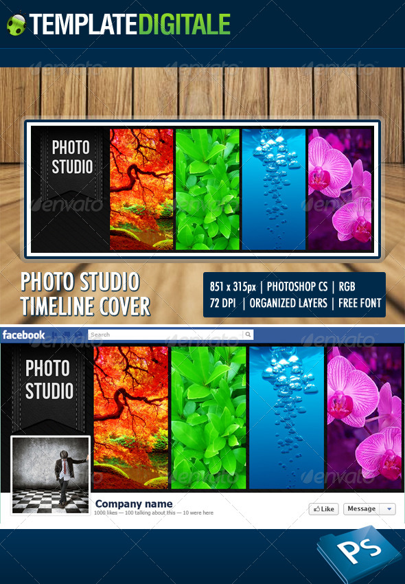 GraphicRiver Photo Studio Facebook Timeline 6182205