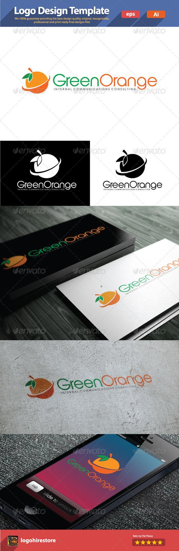 GraphicRiver Orange Green 6182215