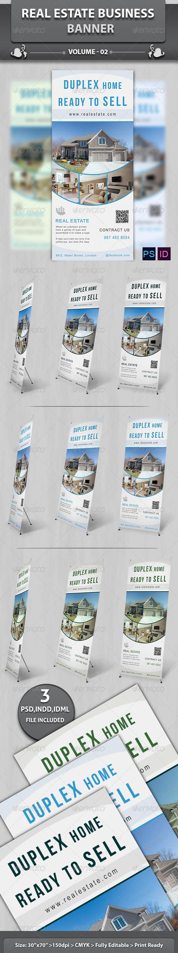GraphicRiver Real Estate Business Banner V2 6183188