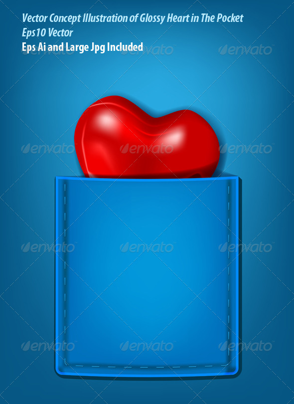 GraphicRiver Pocket Heart 6166717