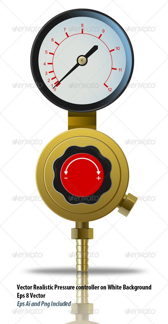 GraphicRiver Pressure Controller 6183398
