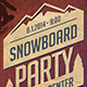 Snowboard Party Flyer - GraphicRiver Item for Sale