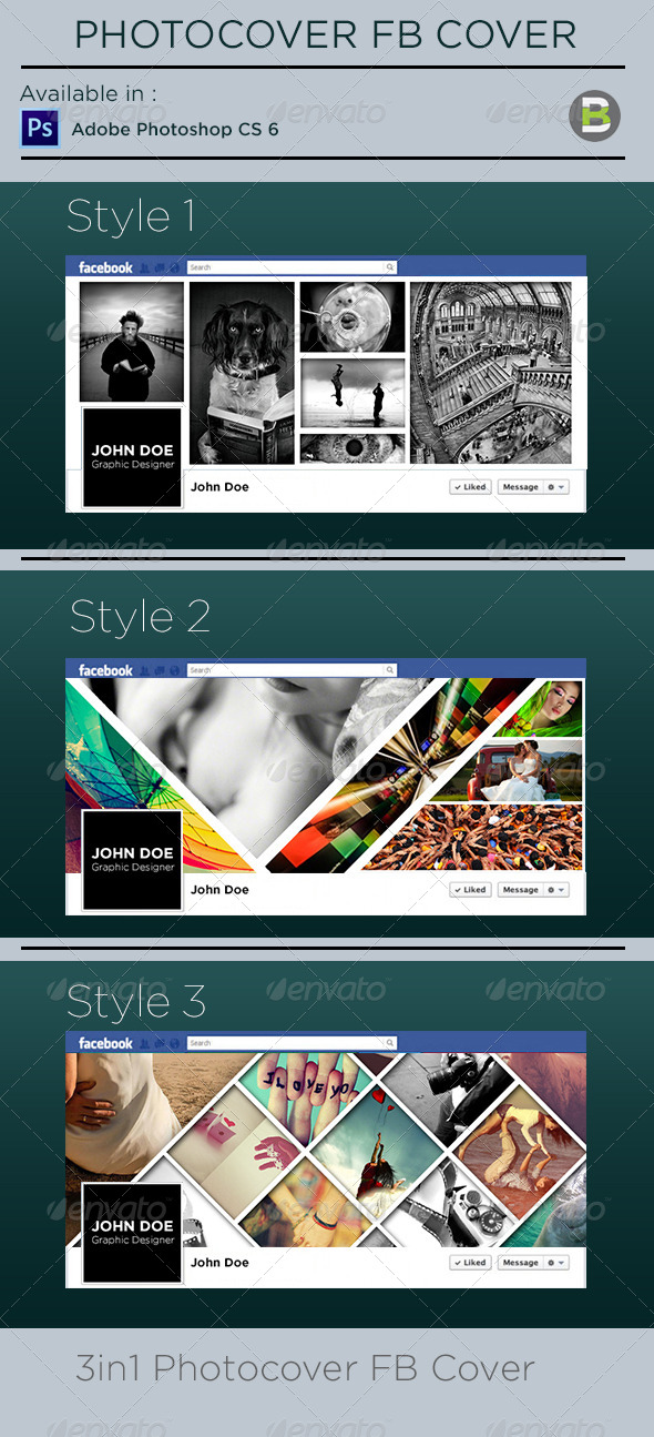 GraphicRiver Photocover Facebook Timeline Cover 6183661