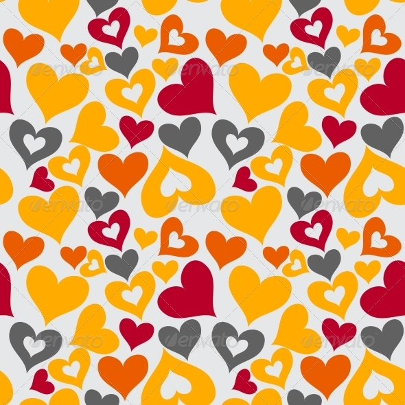 GraphicRiver Valentine Seamless Hearts Pattern 6183925