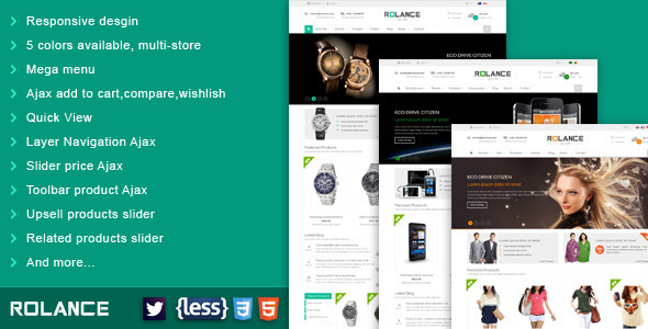 ThemeForest SNS Rolance-Responsive Multipurpose Magento Theme 6184114