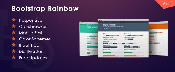 CodeCanyon Bootstrap Rainbow 6184233