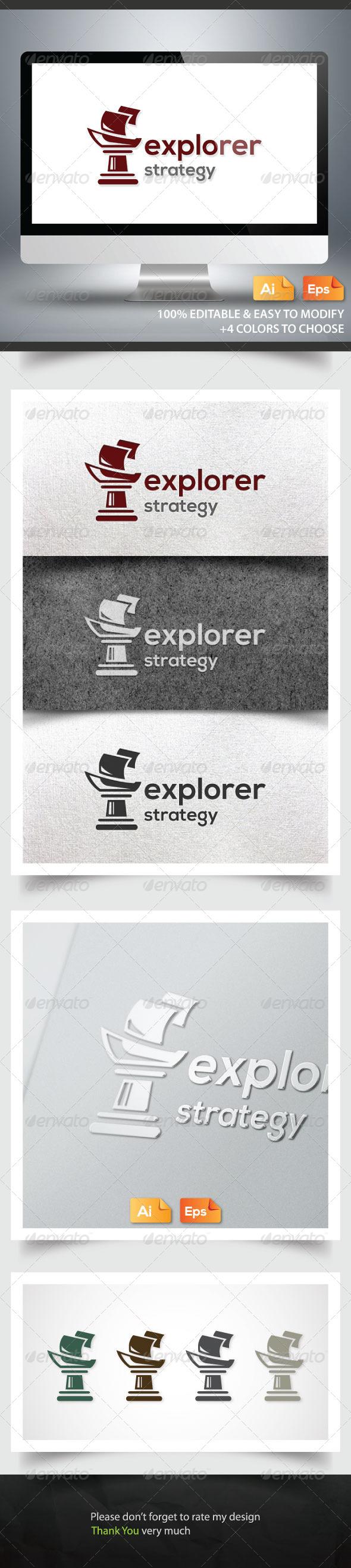 GraphicRiver Explorer Strategy 6184953