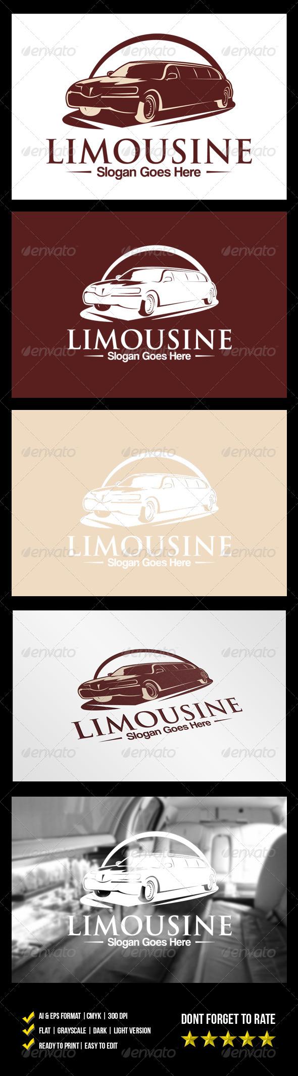 GraphicRiver Limousine Logo 6185282
