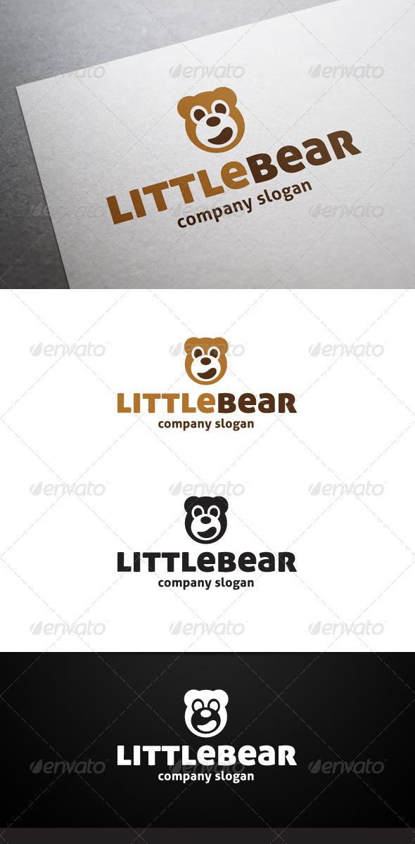 GraphicRiver Little Bear Logo 6185320