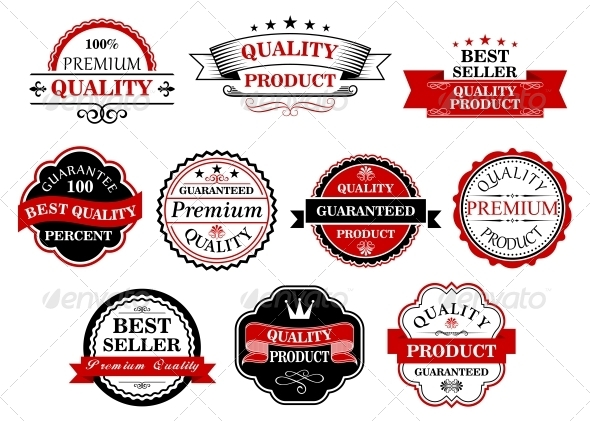 GraphicRiver Retro Labels and Banners for Retail Business 6185437