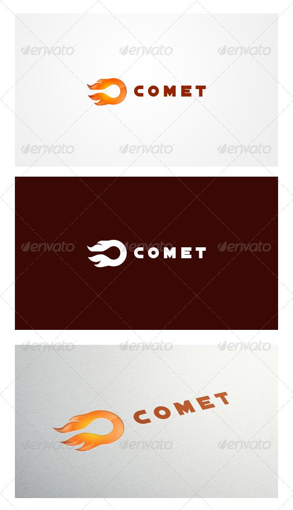 GraphicRiver Comet Logo Templates 6177919