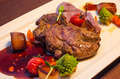Grilled Steak with potataoes and vegetables - PhotoDune Item for Sale