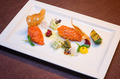 Salmon with crackers and cheese - PhotoDune Item for Sale