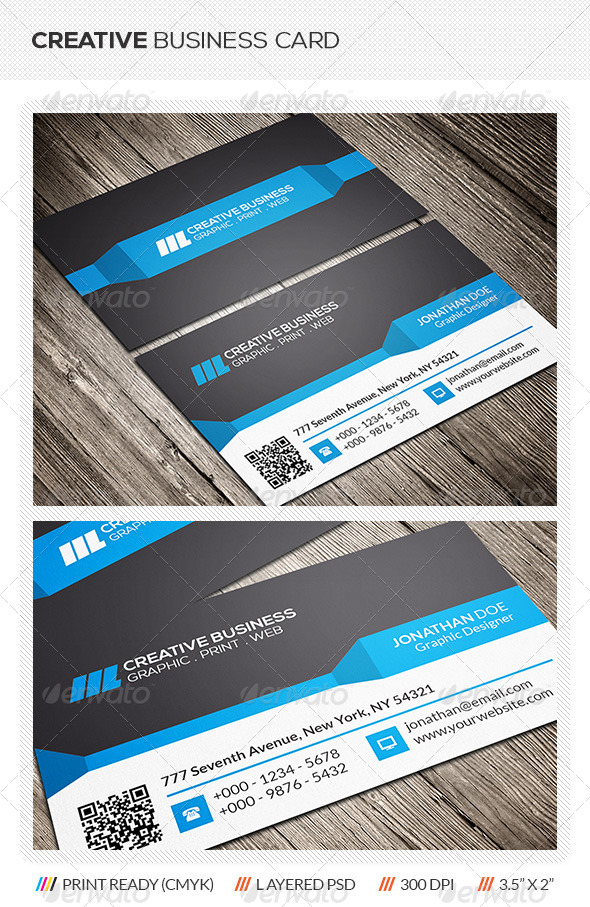 GraphicRiver Creative Business Card 6185779