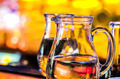 A pitcher of water in the restaurant. - PhotoDune Item for Sale