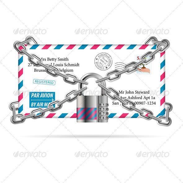 GraphicRiver Confidential Mail 6187577