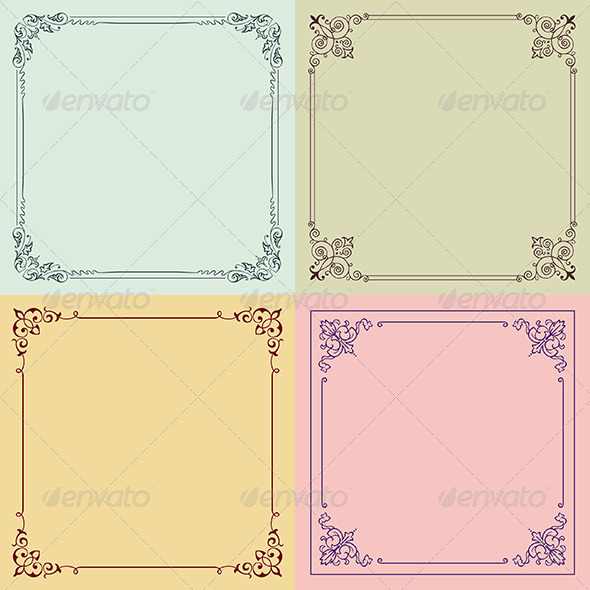 GraphicRiver Decorative Frames 6187943