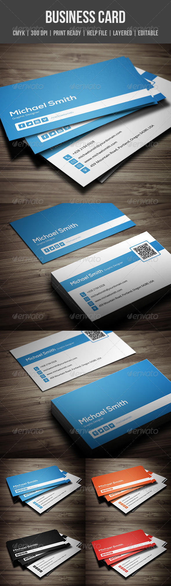 GraphicRiver Personal Business Card 6188615