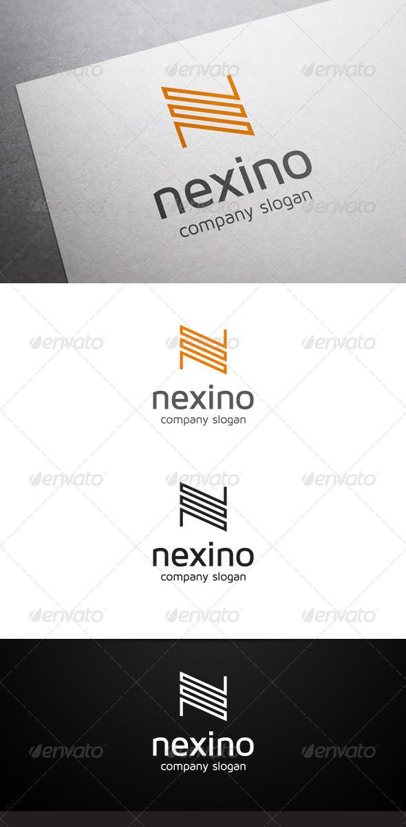 GraphicRiver Nexino N Letter Logo 6188711