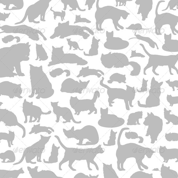 GraphicRiver Cat Background 6188866
