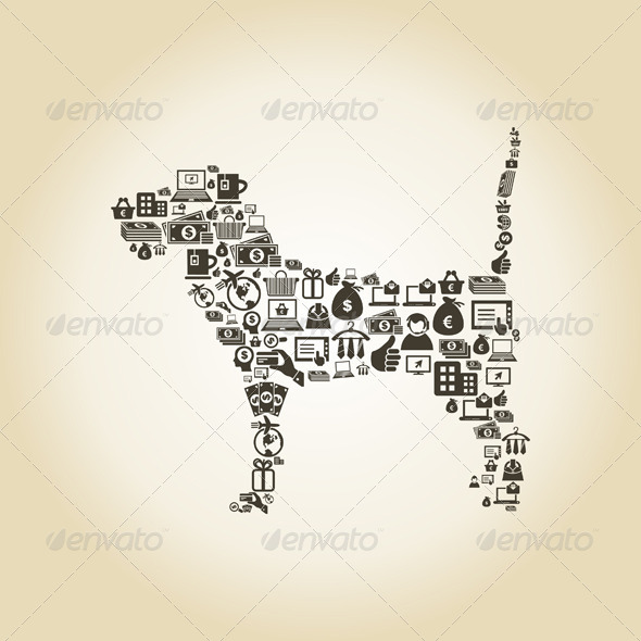 GraphicRiver Dog Business 6189396