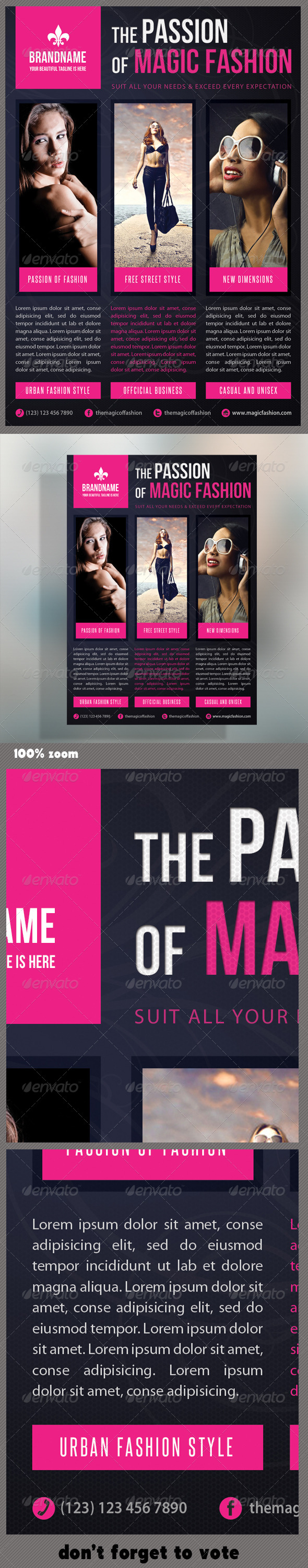 GraphicRiver Fashion Product Flyer 13 6189444