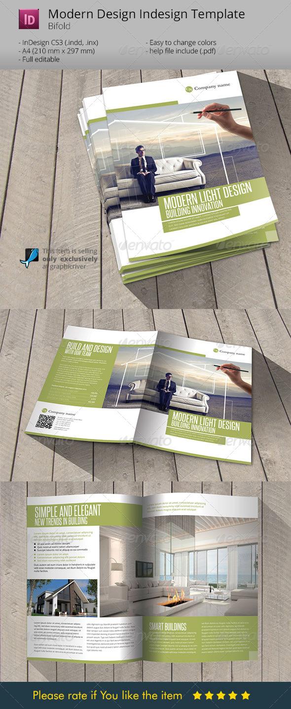 GraphicRiver Modern & Light Design Indesign Template Brochure 6189466