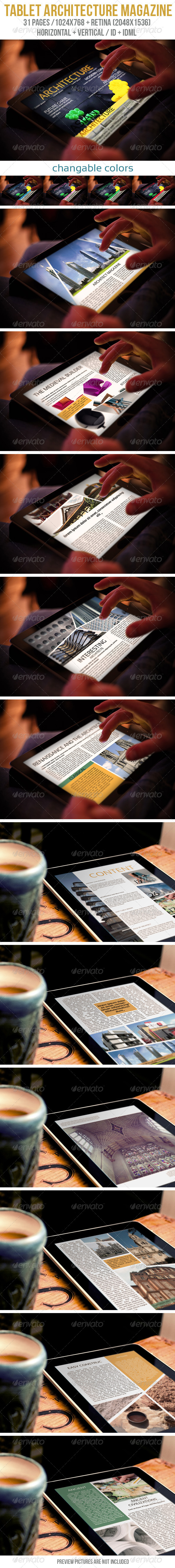 GraphicRiver Tablet Architecture Magazine 6189646