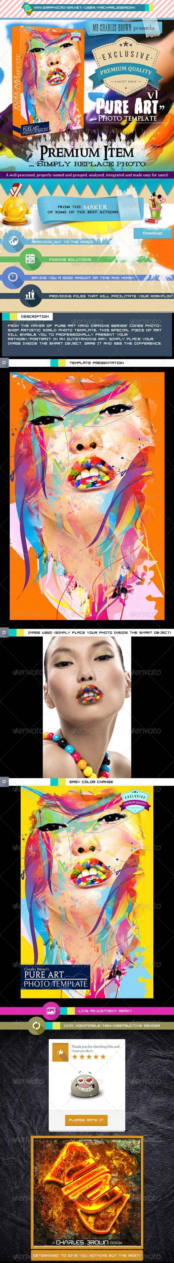 GraphicRiver Pure Art Photo Template v1 6161616