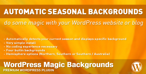 CodeCanyon Magic Backgrounds 6189822