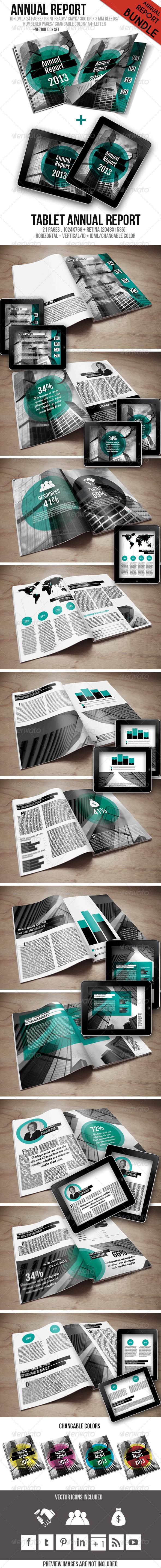 GraphicRiver Annual Report Bundle 6189953