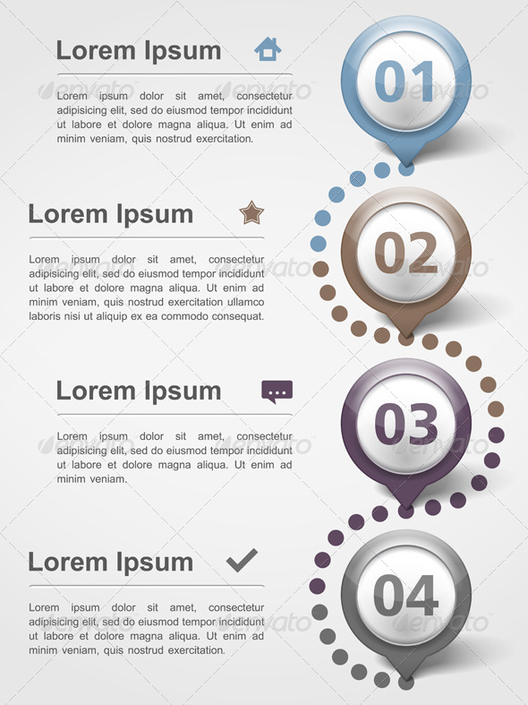 GraphicRiver Infographics Design Template 6190083