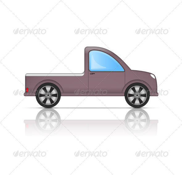 GraphicRiver Pickup Truck 6190124