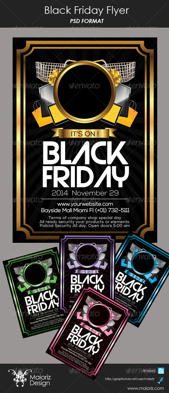 Black Friday Flyer - Commerce Flyers