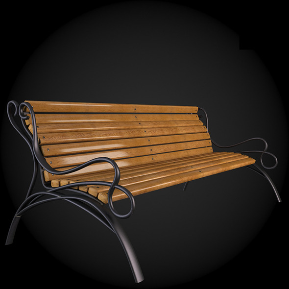 Bench 011 - 3DOcean Item for Sale