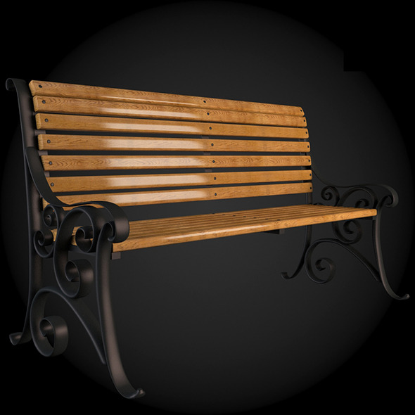 Bench 012 - 3DOcean Item for Sale
