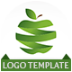Logo Green Apple - GraphicRiver Item for Sale