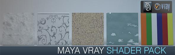 3DOcean Vray for Maya shader pack 6190506