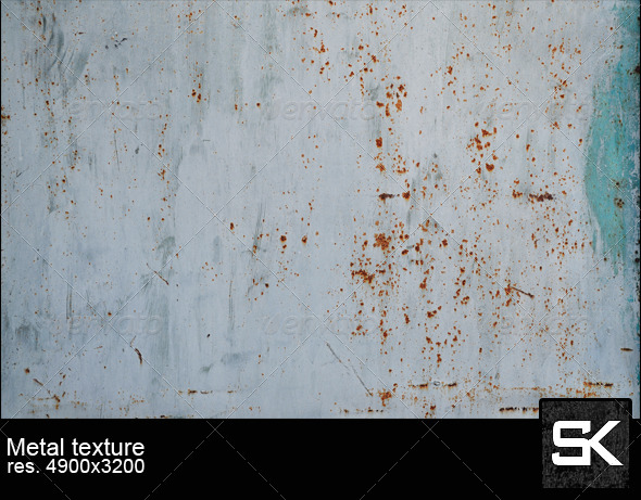 GraphicRiver Painted Rusty Metal 6190817