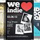 Indie Flyer / Poster Bundle 4 - GraphicRiver Item for Sale
