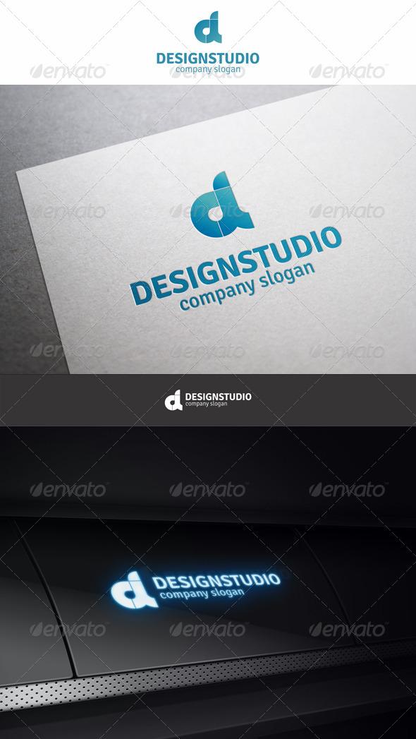 GraphicRiver Design Studio D Logo 6190901