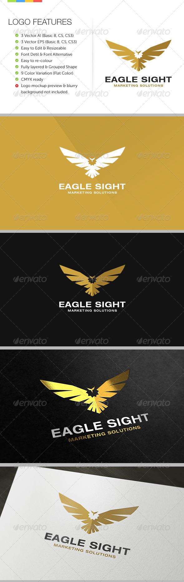 GraphicRiver Eagle Sight Logo 6190935