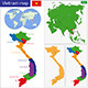 Vietnam Map - GraphicRiver Item for Sale