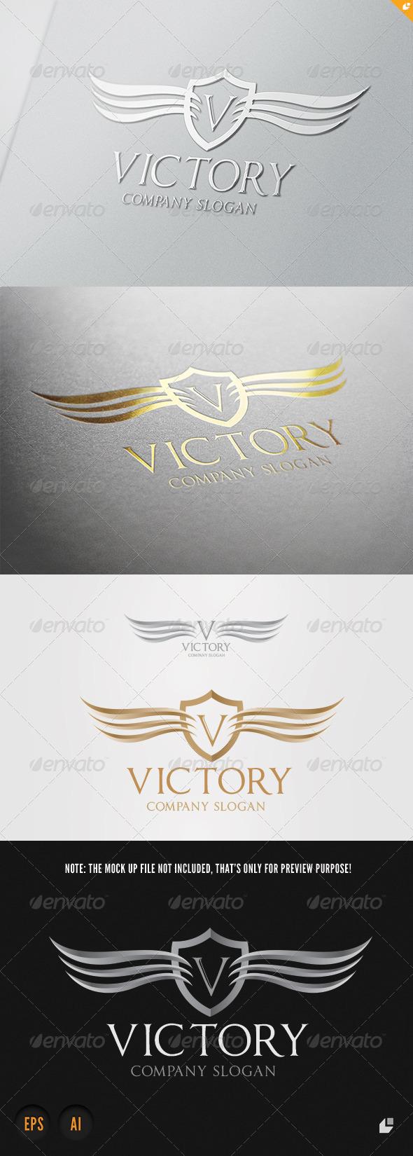 GraphicRiver Victory Logo 6191409