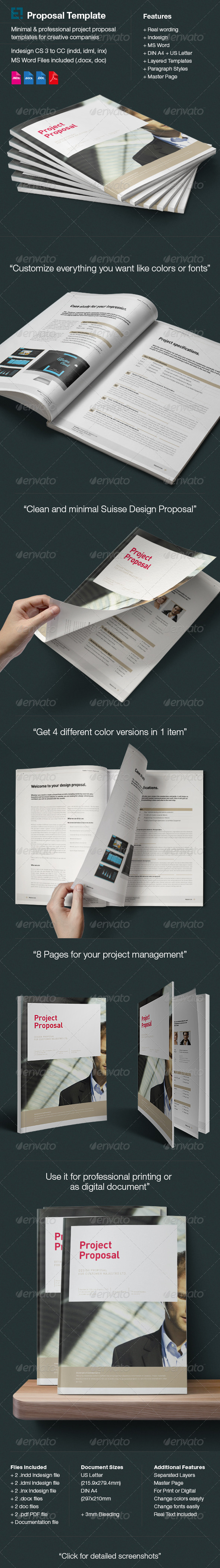 GraphicRiver Proposal Template 6166556