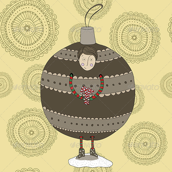GraphicRiver Christmas Bauble Boy 6192055
