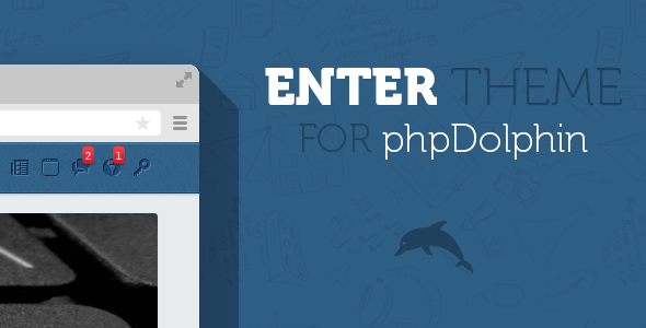 CodeCanyon Enter Theme for phpDolphin 5963921
