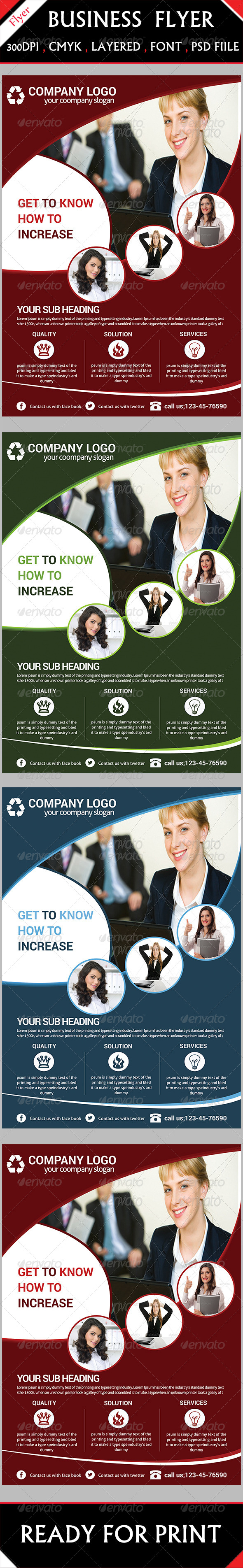 GraphicRiver Corporate Flyer 6192453