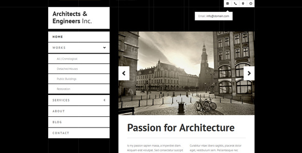 Architects & Engineers – One-Page and Multi-Page