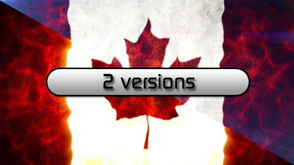 Canada Flag 2 in 1